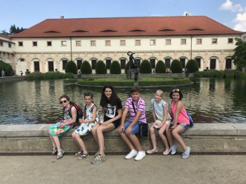zájezd dětí Praha