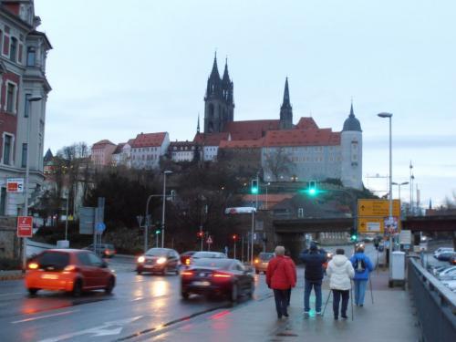 Albrechtsburg sMíšenským dómem